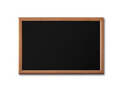 Handsome 24 X 18 Framed Magnetic Black Chalk Board Medium Frame Blackboard