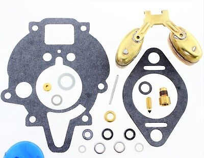 Carburetor Kit Float Fits John Deere Combine 105 13023 14990 Ar39900 Zc51