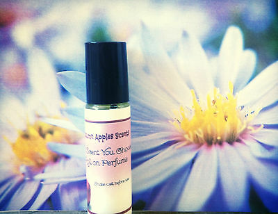 JASMINE & GREEN APPLE - Roll on Women's Perfume Oil , 1/3 oz, 10 ml. Fast ship!