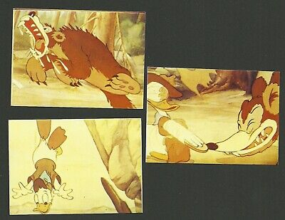 Donald Duck Boy Scout Vintage 1960s Walt Disney Disneyland Stickers Belgium D