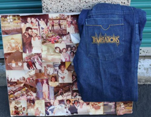 The Temptations Melvin Franklin David English Original Pants & Photo Collage
