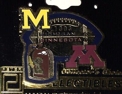 NEW  UNIV OF MICHIGAN WOLVERINES FOOTBALL VS MINNESOTA BROWN JUG PIN Michigan Wolverines Brown Football