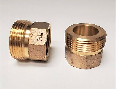 Brass Water Meter Adapter Install Full 34 9 Long Meter To 1 Setter A34