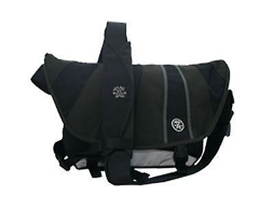 Crumpler The Barney Rustle Blanket Messenger Bag (black/gunmetal/grey)