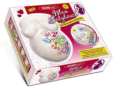 3D Gips Babybauch Gipsabdruck 21 teilig Set Baby Bauch Abdruck Babybauchabdruck