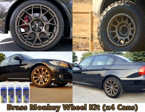 Plasti Dip Brass Monkey 4 Pack Wheel Kit Spray 11oz Aerosol Cans