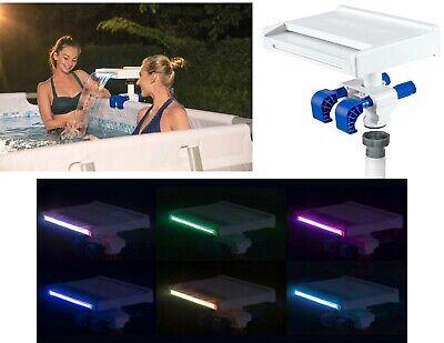 Bestway 58619 LED Piscina Cascada Accesorio Piscina Wasserfluss