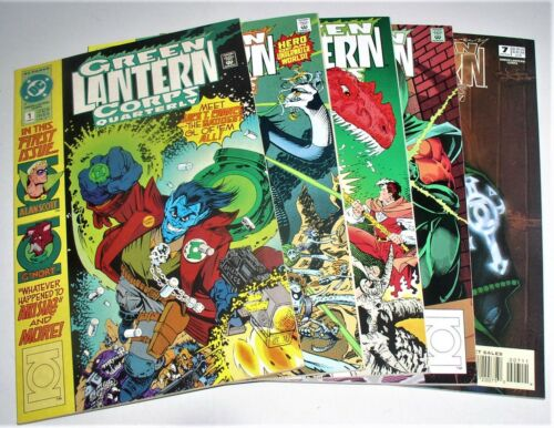 GREEN LANTERN CORPS QUARTERLY  #1 #3 #4 #6 AND #7 (HALLOWEEN ISSUE)
