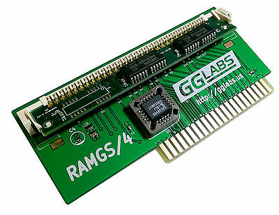 GGLABS RAMGS/4 Apple IIgs 4MB memory expansion - 4M RAM GS/OS