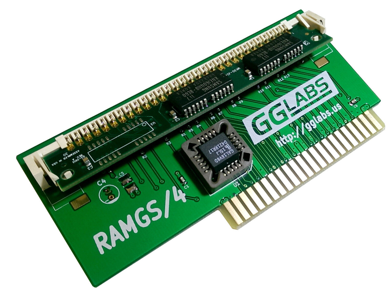 GGLABS RAMGS/4 Apple IIgs 4MB memory expansion - 4M RAM GS/OS