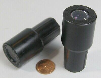 Zeiss Microscope Eyepieces Cpl W1018 2 Count W. Germany