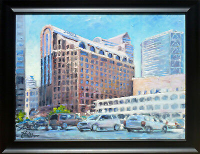 Stifel   St Louis  Oil On Canvas  By Irek T  Szelag