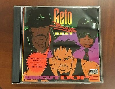 Geto Boys - Geto Boys Best: Uncut Dope - 1992 - CD