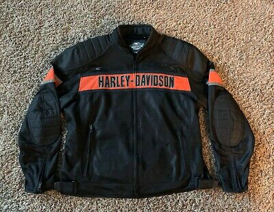 Men's Harley-Davidson XL Trenton Mesh Riding Jacket