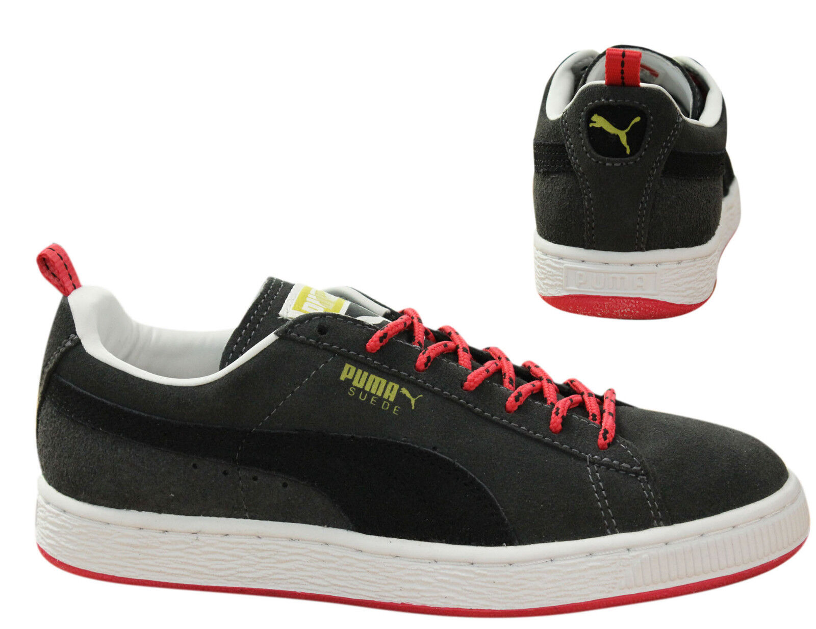 Details about Puma Suede Classic Eco Trail Lace Up Mens Trainers Dark Shadow 354353 02 P3D