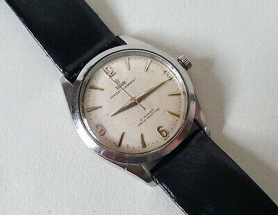 """Men's Vintage Stainless Steel Rolex Tudor Oyster """"Elegante"""" Wrist Watch"""