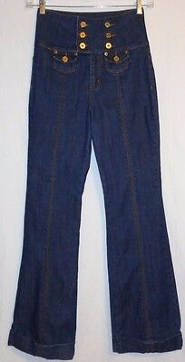 Used, women's / jr's  Zana Di  High Waist Flare Jeans size 9 for sale  USA