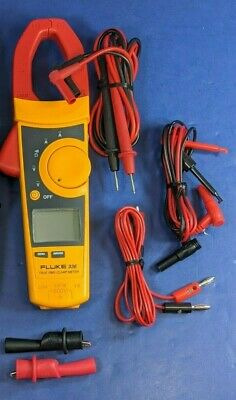Fluke 336 Trms Clamp Meter Excellent Screen Protector More