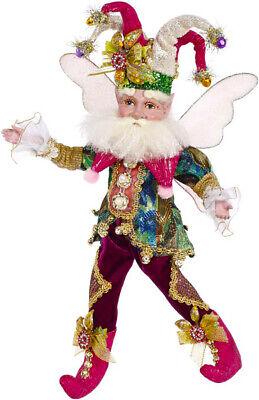 "[Mark Roberts Fairies - Jingle Jester Fairy 51-97210 Small 10"" Figurine </Title]"