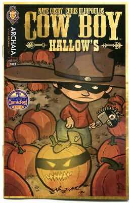 Halloween Stores In (COW BOY HALLOW'S #1 Halloween ashcan, Promo, 2012, NM, more Halloween in)