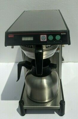 Bunn Commercial Ss Smart Wave-15 Aps Coffee Brewer Thermal Carafe 120v