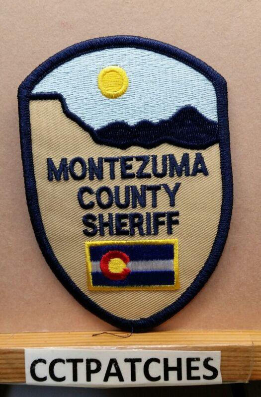 MONTEZUMA COUNTY, COLORADO SHERIFF (POLICE) SHOULDER PATCH CO