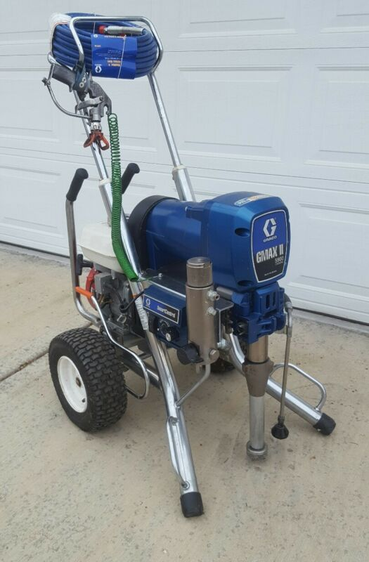 GRACO GMAX II 5900 ,,CONVERTIBLE GAS/ELECTRIC AIRLESS PAINT SPRAYER ,3900,,7900
