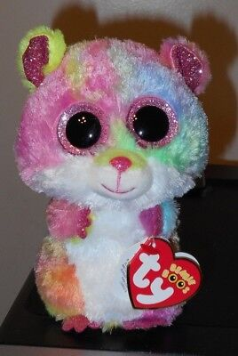 """Ty Beanie Boos - RODNEY the 6"""" Hamster / Guinea Pig ~ 2018 NEW ~ IN HAND"""