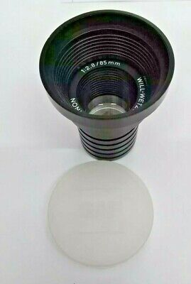 Will Wetzlar Maginon 12.885mm Projector Lens Vintage Made In Germany Bnip