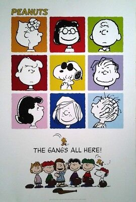 Filmposter USA 68x98:  Peanuts, The Gang's all here