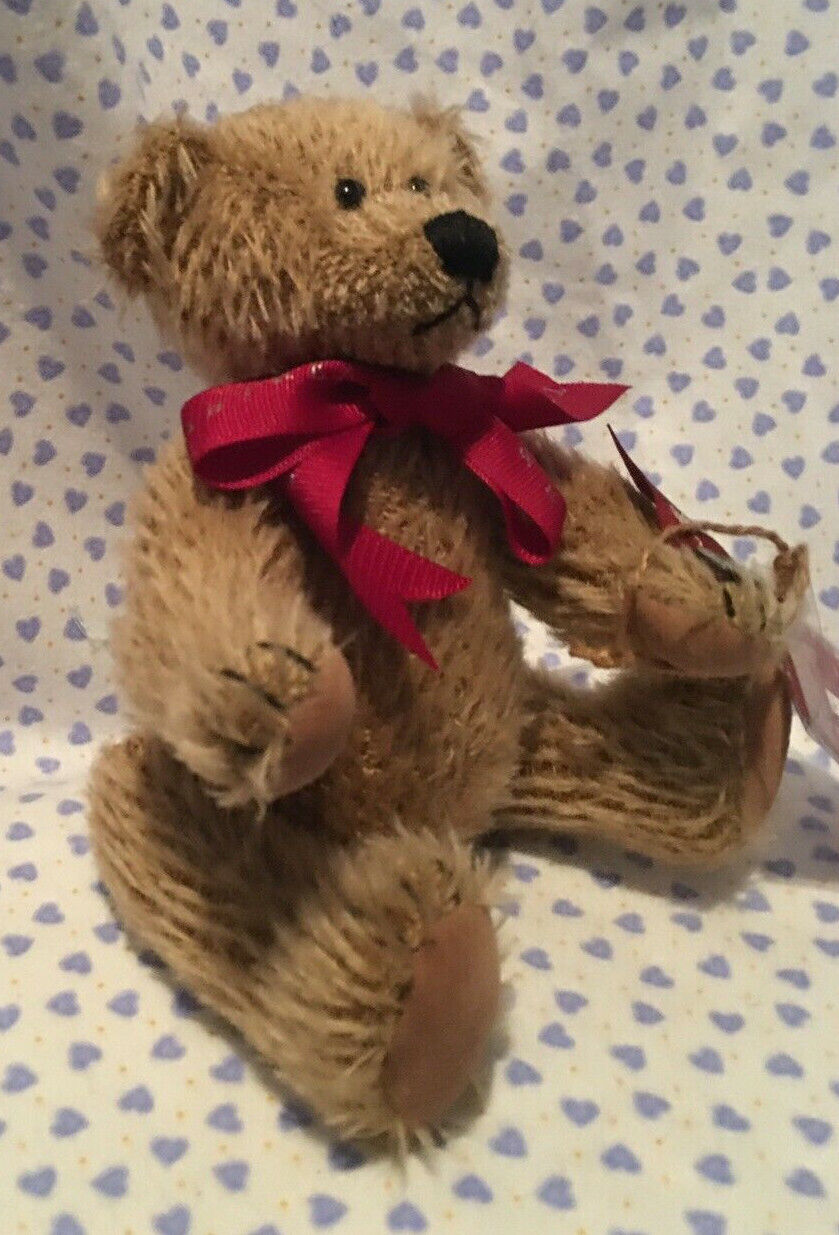 BEAR RUSS CRABTREE EVELYN/MOHAIR COLLECTION/VINTAGE LTD. ED. W/TAG - $30.00