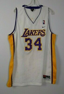 Nike NBA Los Angeles Lakers Shaquille O'Neal  Jersey Size XL