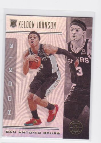 2019-20 PANINI ILLUSIONS SAN ANTONIO SPURS KELDON JOHNSON RC NO. 180