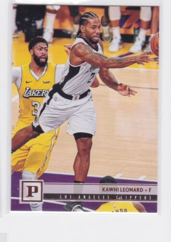 2019-20 PANINI CHRONICLES LOS ANGELES CLIPPERS KAWHI LEONARD BRONZE PARALLEL