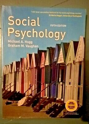 Social Psychology, Hogg & Vaughan, PB, 2008 for sale  Shipping to South Africa
