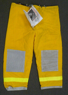 50x30 Janesville Pants Firefighter Turnout Bunker Fire Gear W Liner P005