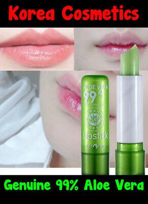 GENUINE 99% Aloe Vera Soothing Gel Lip Moisturizer Color Changing Lip Balm  Aloe Vera Lip Balm
