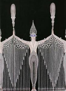 Original Vintage Erte Art Deco Print