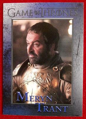GAME OF THRONES - Season 4 - Card #76 - MERYN TRANT - Rittenhouse 2015