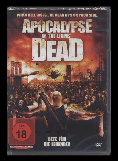 DVD APOCALYPSE OF THE LIVING DEAD - ZOMBIE-HORROR - FSK 18 *** NEU ***