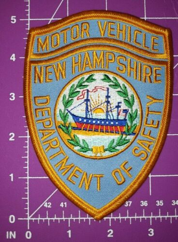 New Hampshire Department Of Safety Motor Vehicle Patch