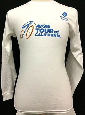 Amgen Tour Of California Cycling Bicycle Championship Long Sleeve T Shirt Sm M16