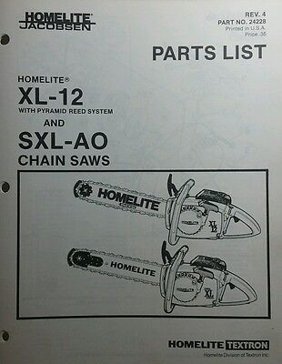 Best Deals On Homelite Xl 12 Chainsaw Parts Comparedaddy