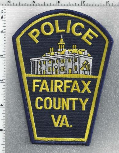 Fairfax County Police (Virginia) 7th Issue Shoulder Patch