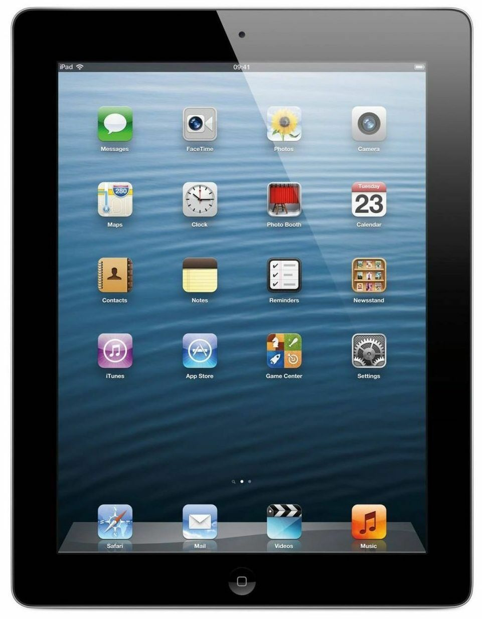 "Tablet - Apple iPad 4 - 4th Generation 9.7"" with Retina Display 16GB, 32GB - Black WIFI"