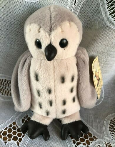"""GUND - 6"""" CLASSIC POOH COLLECTION - PLUSH OWL - """"BEANIE"""" FILLED"""