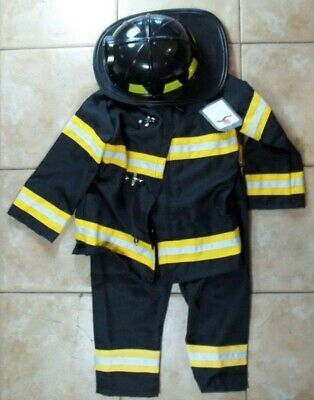 Pottery Barn Kids Firefighter Halloween Costume 4 - 6 Years #7097