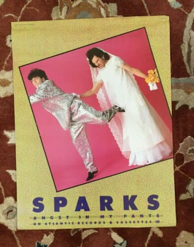 SPARKS  Angst In My Pants  rare original promotional poster