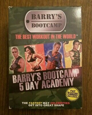 Barry's Bootcamp 5 Day Academy Fitness 5 DVD Set -  Best Workout in the