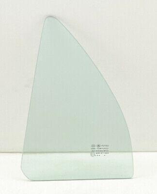 Fit 1998-2002 Toyota Corolla/ Chevrolet Prizm Driver Left Rear Vent Window Glass